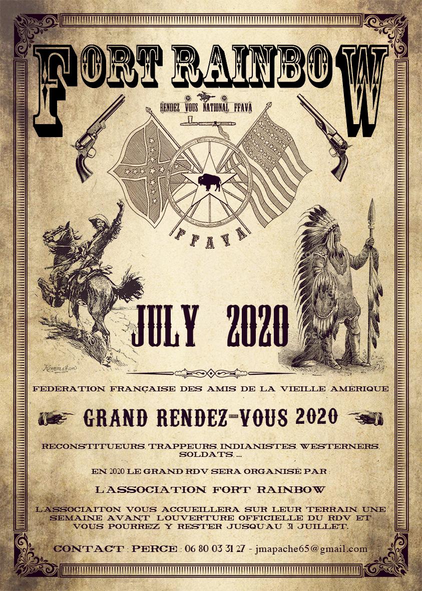 Affiche annonce rdv ffava 2020