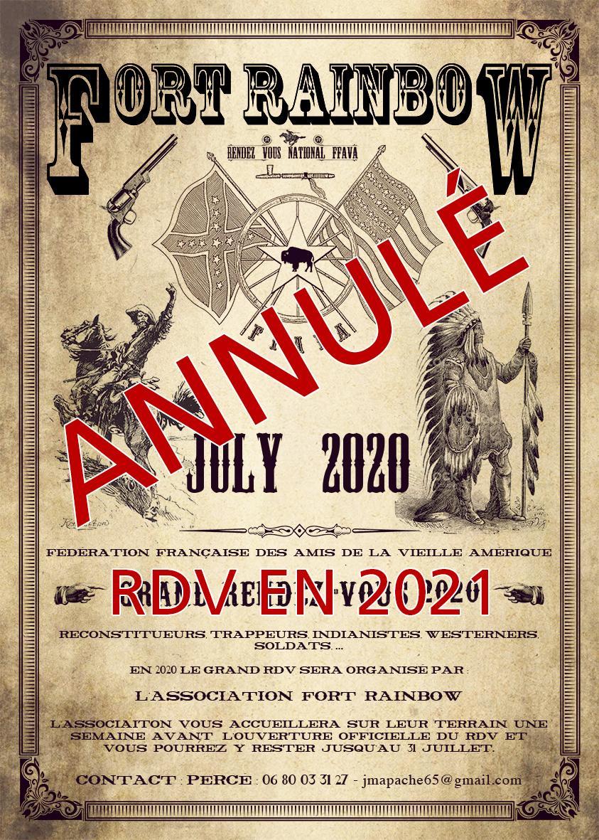 Annulation rdv ffava 2020